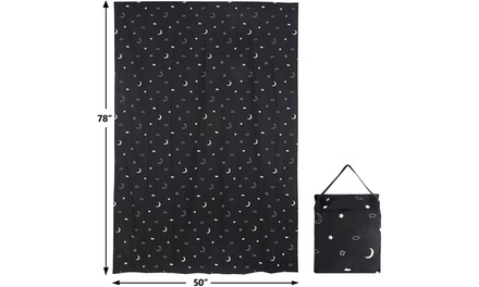ZENY Portable Blackout Curtain for Baby Travel Window,for Nursery, Kids Bedroom