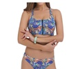 Women's Beach Low Rise Printing Bikini Sets