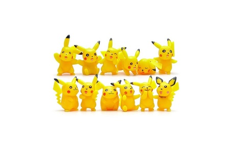 12 PC Pokemon Monster Collection Volt Pikachu Action Figure 2057afc8-2056-489d-a84a-1645cae2e49a