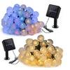 50LED Outdoor Solar Crystal Ball Fairy Lights