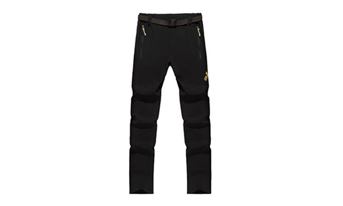 Men's Straight Mid Rise Simple Long Solid Pants