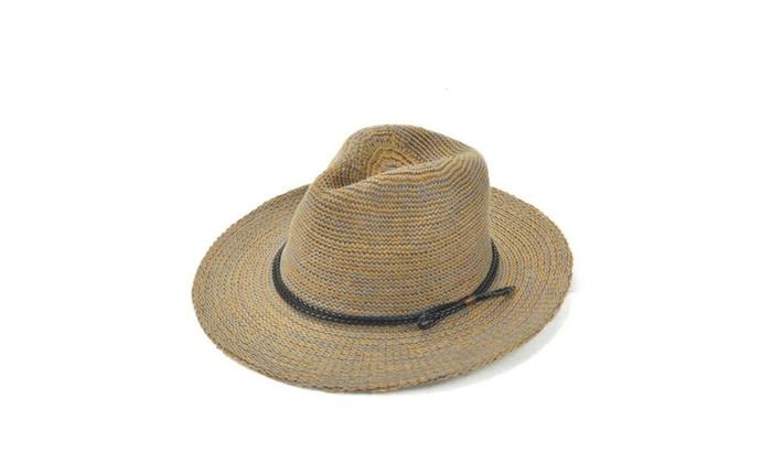 Women's Round Crown Casual Solid Wide Brim Sun Hat