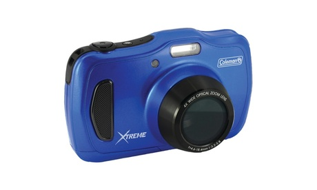 Coleman20 Megapixel Xtreme4 Hd Waterproof Digital Video Camera (blue) b51d9636-9e47-4b95-a924-d18e13e30cad