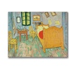 Vincent Van Gogh Van Goghs Bedroom at Arles Canvas Print