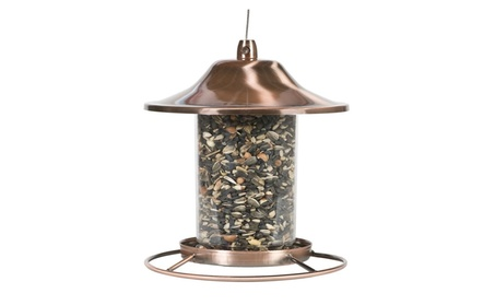 Perky-Pet Copper Panorama Bird Feeder 312C (Goods For The Home Patio & Garden Bird Feeders & Food) photo