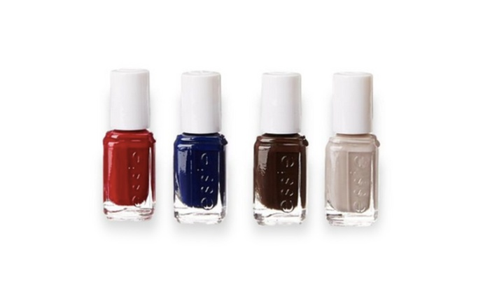 Essie Collection 4 Piece Mini Nail Polish Set