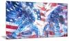 Hockey USA Goalie Metal Wall Art 28x12