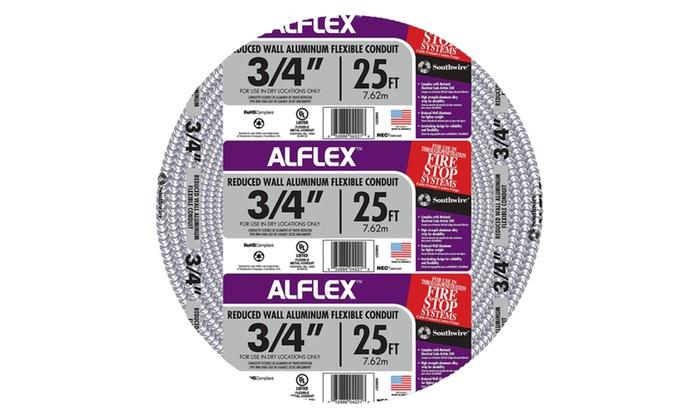 Alum Flex 3-4x25Ft