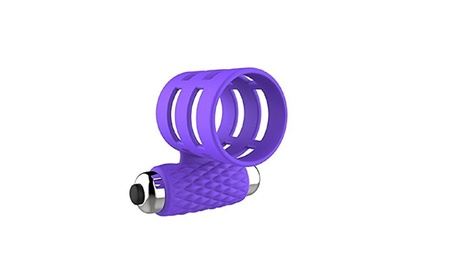 Silicone Penis Ring Vibrator Powerful Bullet C-Ring Stimulator - Purple 01adf299-f8b6-458c-b8f9-4ec2824ed6ca