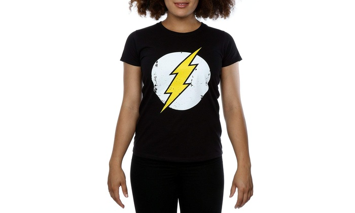 0ade99e85ea6 Up To 59% Off on DC Comics Women s Flash Distr...