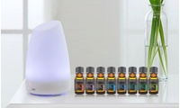 Aesthetics Ultrasonic Cool-Mist Aroma Diffuser with Optional Oils