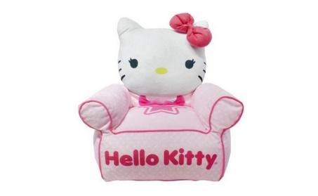 Hello Kitty Figural Bean Bag Chair 71682ec9-bdc5-43a5-99e0-f8dfa315e9c8