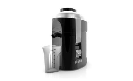 BLACK+DECKER 400-Watt Fruit and Vegetable Juice Extractor, Black photo