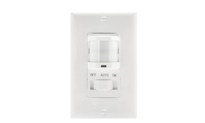 Indoor Motion Sensor Light Switch Occupancy Detector Sensors Groupon