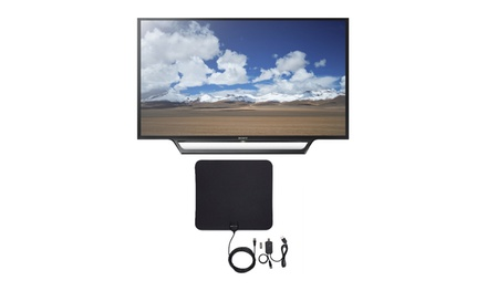 Sony KDL32W600D 32-In Built-In Wi-Fi HD TV with Ultra-Thin Digital HDTV Antenna