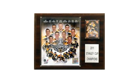 "NHL 12""x15"" Boston Bruins 2010-2011 Stanley Cup Champions Plaque 8aac7a5c-1f8e-41e8-b661-a5f429b96b15"