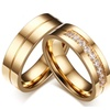 Stainless Steel Couple 1 Pair Wedding Ring