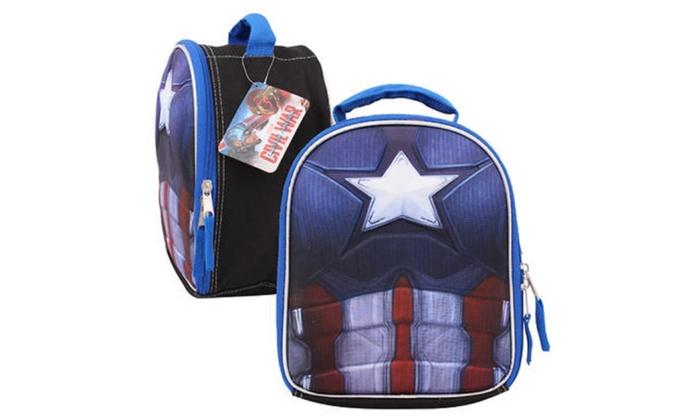 Marvel Captain America Civil War Lunch Bag - 10