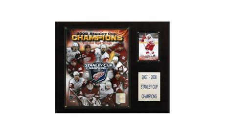 """NHL 12""""x15"""" Anaheim Ducks 2007 Stanley Cup Champions Plaque 77e9c106-dea6-40c9-96d7-2de3500b3fe1"""