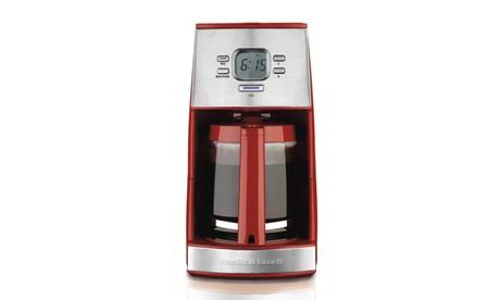 Hamilton Beach ensemble 12 Cup Programmable Coffee Maker 67cf69a5-9b05-46c1-bc48-ca80e84f8134