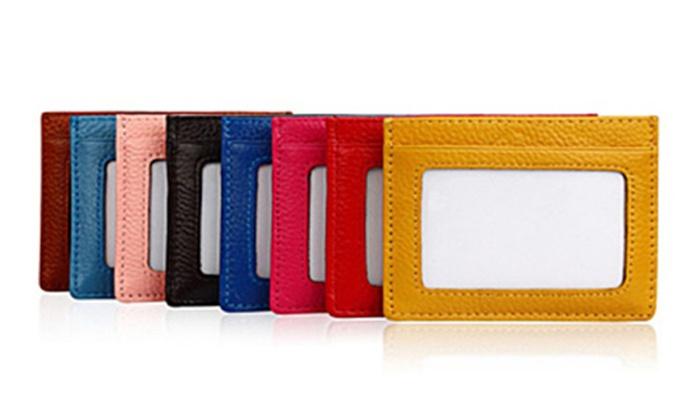 Premium New Skinny Mini RFID Safe Universal Minimal Wallet