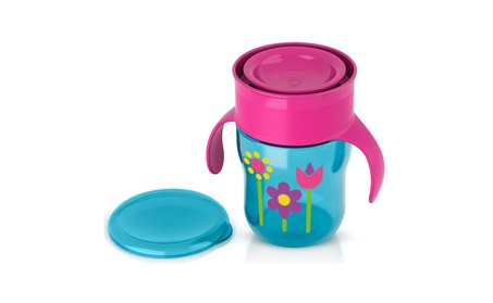 Philips Avent BPA-free Natural Drinking Cup For Girl, 9 oz /260ml 47ed0cfe-baa6-485e-a80e-58e4b9d81bf3