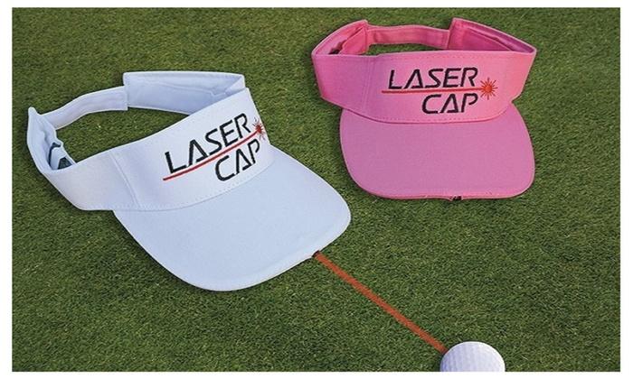 Laser Golf Visor-Putting & Chipping Training Aid