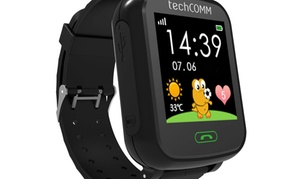 TechComm Smart Watch for Kids with Pedometer and GPS for T-Mobile ONLY