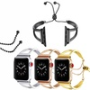 Stainless Steel Wrist Band Bangle Cuff Bracelet For Apple IWatch 3/2/1