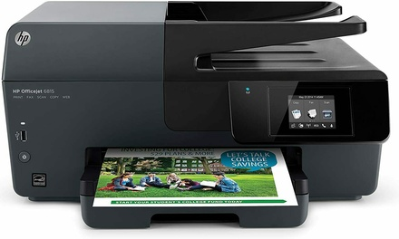 HP OJ6815 Officejet 6815 e-All-in-One Inkjet Printer