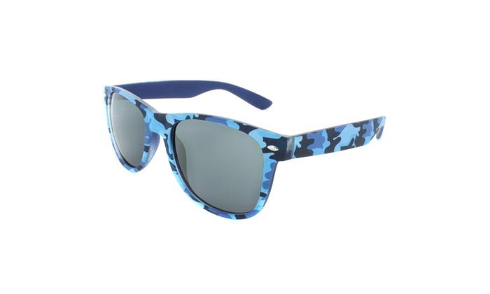 MLC EYEWEAR Camouflage 50mm Retro Square Sunglasses