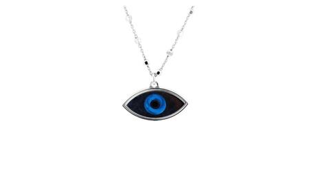 Evil Eye, Silver and Enameled Evil Eye Pendant 6f2d234b-18ed-4411-907b-e69d68988d40