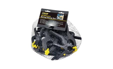 Steel Grip DR60527 22 Piece Spring Clamp Set 48ba8f2b-29c3-4d95-8a8b-2c1b03681492