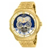 25581 - INVICTA Objet D Art Men 48mm Stainless Steel Gold Blue+Silver