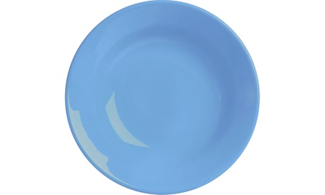Set of 4 Soup Plates Fun Factory Blue Bell f0aba96f-2698-4e10-b548-4cad2ce4ae18