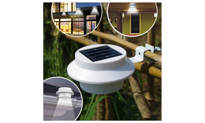 Wireless Solar Panel Outdoor Waterproof Garden LED Lights
