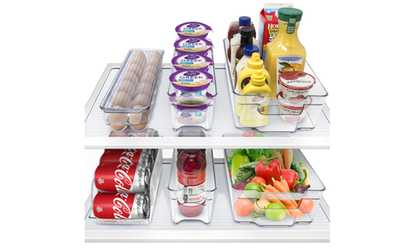 Shop Groupon Sorbus Fridge and Freezer Organizer Bins Set (6-Piece)  sc 1 st  Groupon & Glass Meal Prep Food Storage Containers 3 Compartment with Vented ...