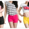 Women's Summer Female Candy Colored Shorts - JPWS508-JPWS509-JPWS510
