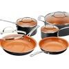 Gotham Steel Non-Stick Cookware Set (12-Piece)