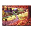 David Lloyd Glover Road to Maplegrover Farms Canvas Print