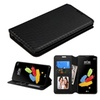 Insten Book Style Leather Fabric Case For Lg G Stylo 2/stylus 2 Black
