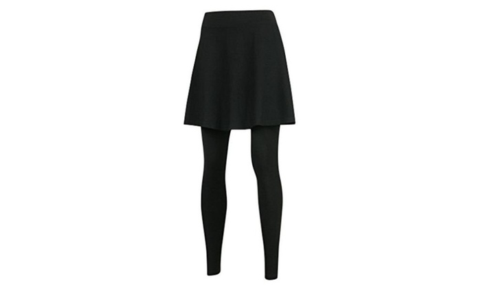 Plus Size Skirts with Leggings