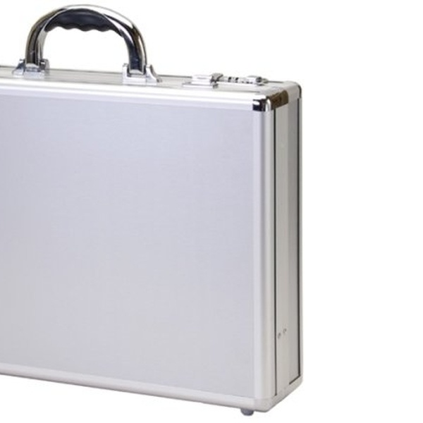 T.Z Case Aluminum Small Travel Case in Silver