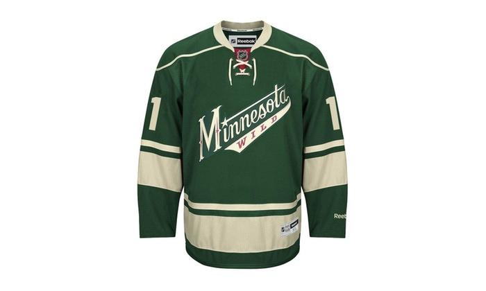 purchase cheap 5cb07 186b4 Mens Zach Parise Jersey #11 Minnesota Wild Third Premier Jersey