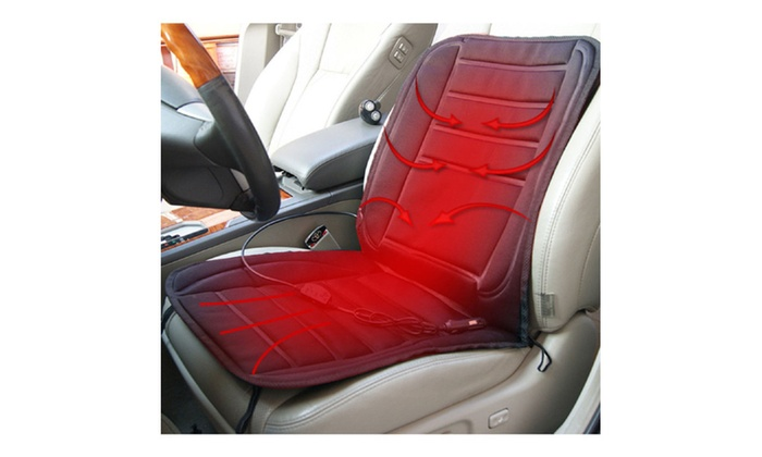 Heated Car Seat Cover | Groupon