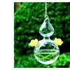 Rope Gourd Type Hanging Glass Vase
