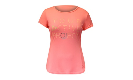 Lotto Women's Marathon Polyester Short-sleeved T-shirt dce8b2ff-1b70-4a07-ad2e-83e4257f1a84