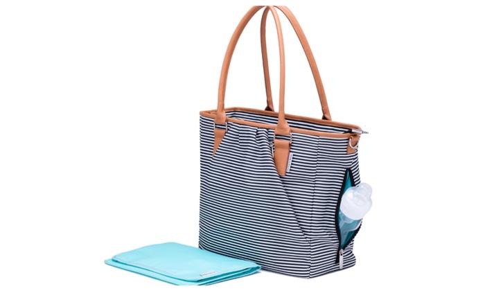 Premium Designer Diaper Bag By Kute N Koo Large Lightweight
