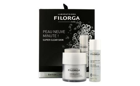 Filorga Super Clear Skin Set: Scrub,55ml Solution,50ml 1565f6dc-a628-4a5b-a79c-8fc17f28cac0