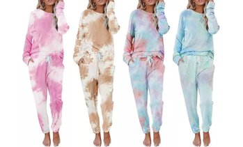 Leo Rosi Women's Tie Dye Gloria Lounge Set (2-Piece)